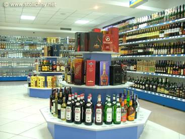 алкогольная продукция магазина